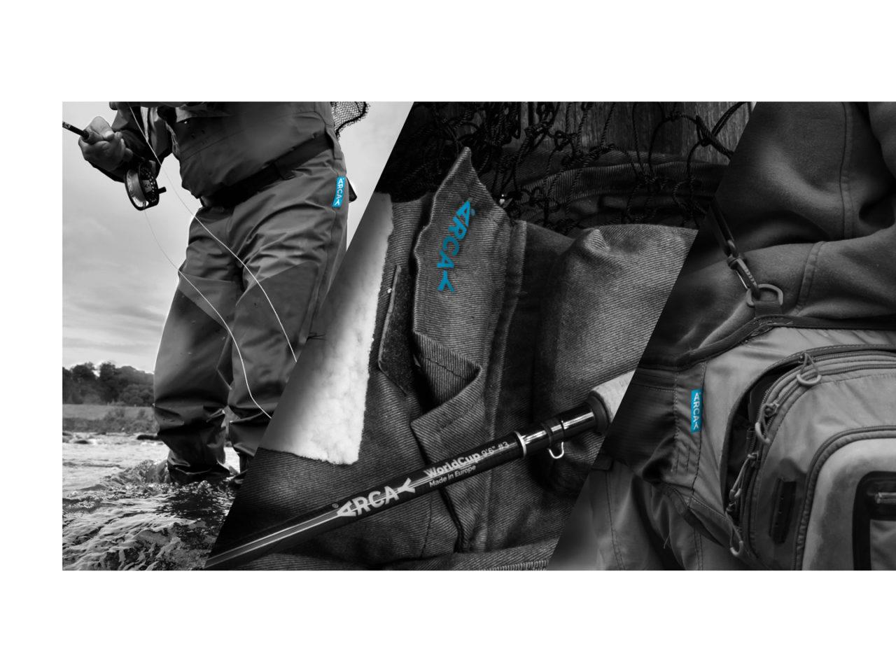 Identidade corporativa de Arcay Fishing 7