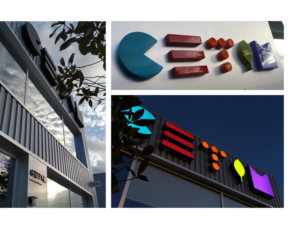 Identidade corporativa de CETIM 8