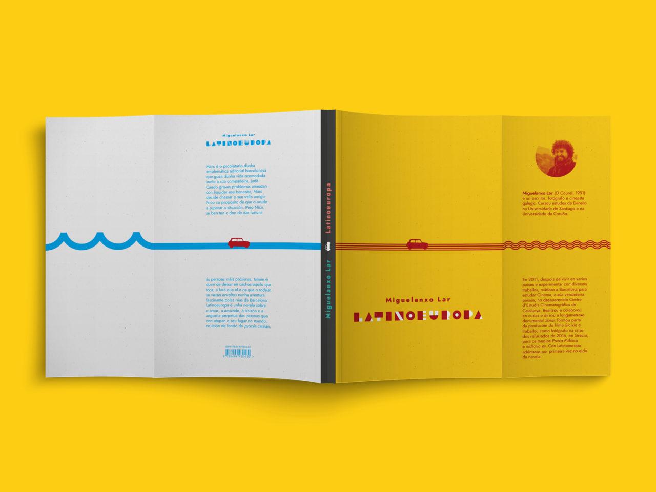 Ilustración editorial para a novela Latinoeuropa 3