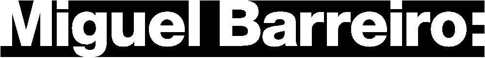 Logo Miguel Barreiro