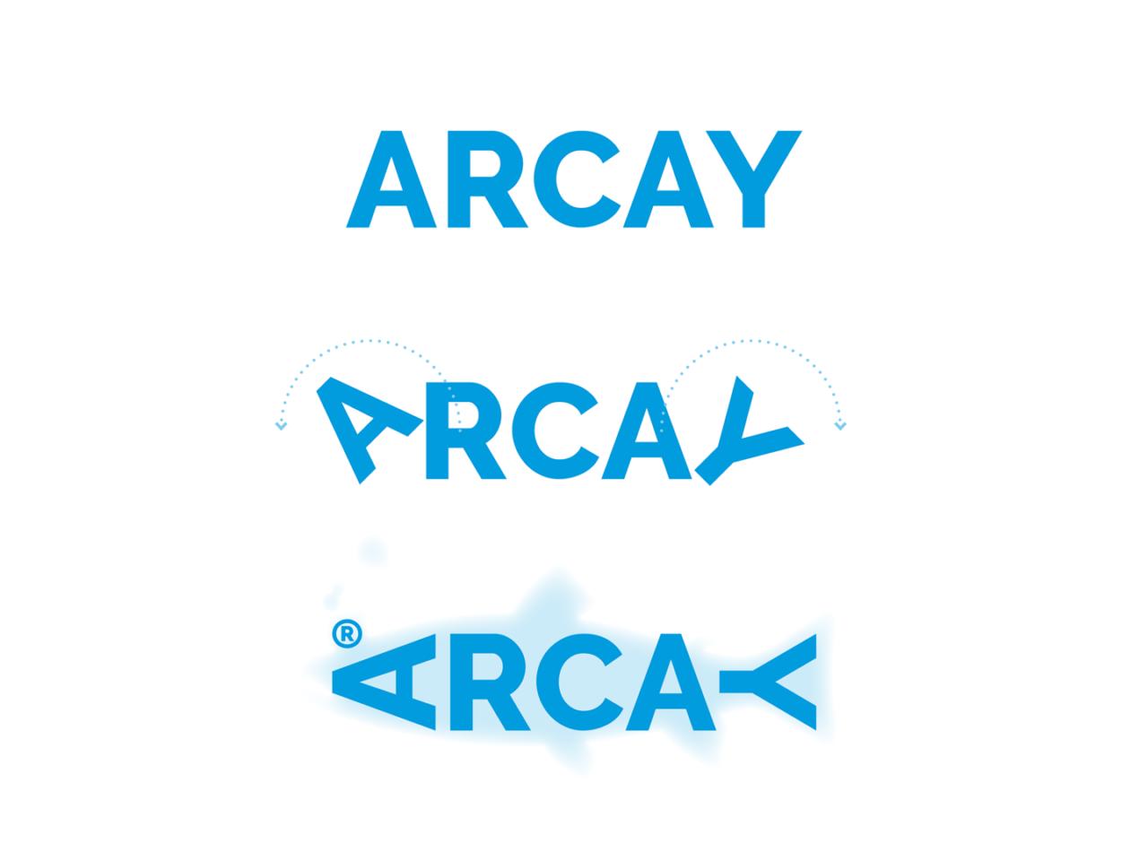 Identidade corporativa de Arcay Fishing 2