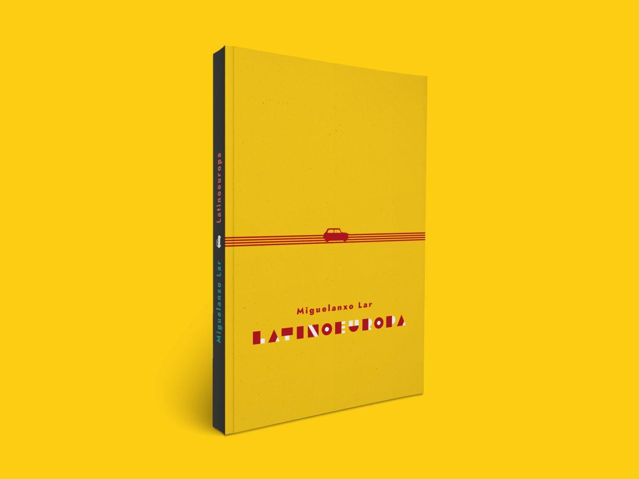 Ilustración editorial para a novela Latinoeuropa 1
