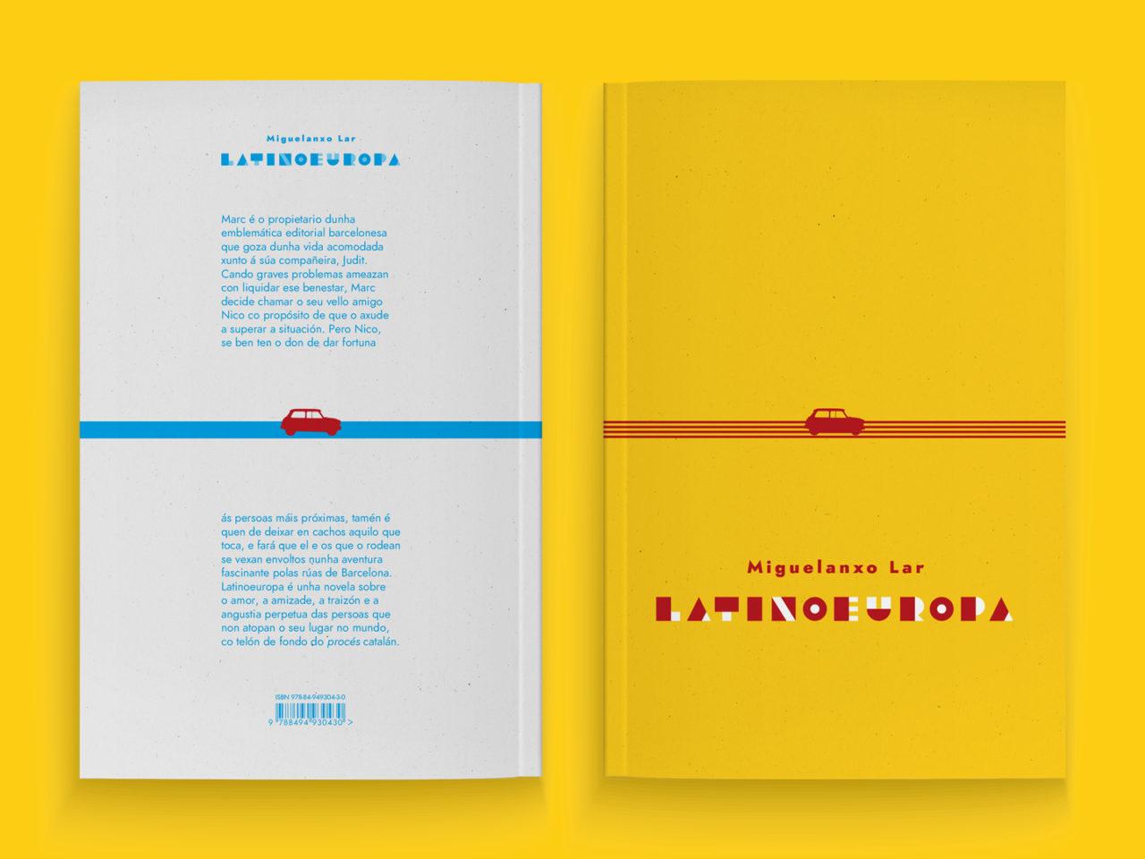 Ilustración editorial para a novela Latinoeuropa 2